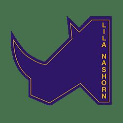 Lila Nashorn Logo