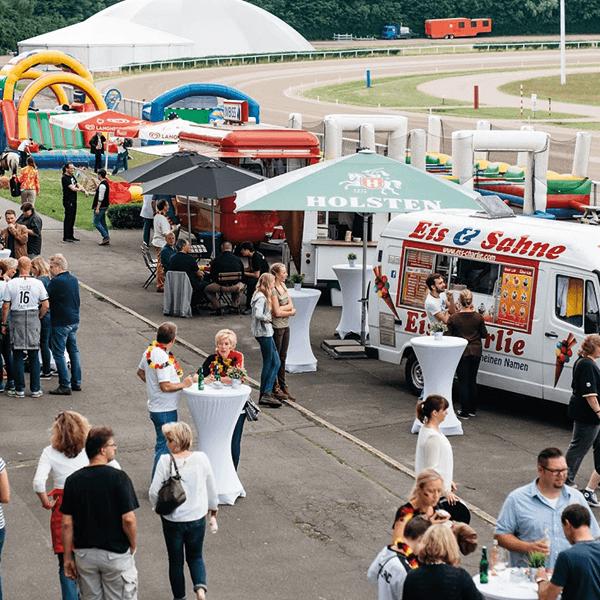 Crown Sommerfest Trabrennbahn Bahrenfeld