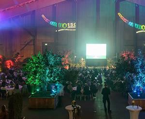 Mignon Event Galaabend mit großer Bühne