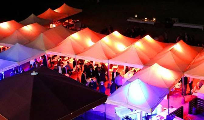 Mignon Event Sommerfest mit integrierten Plan B