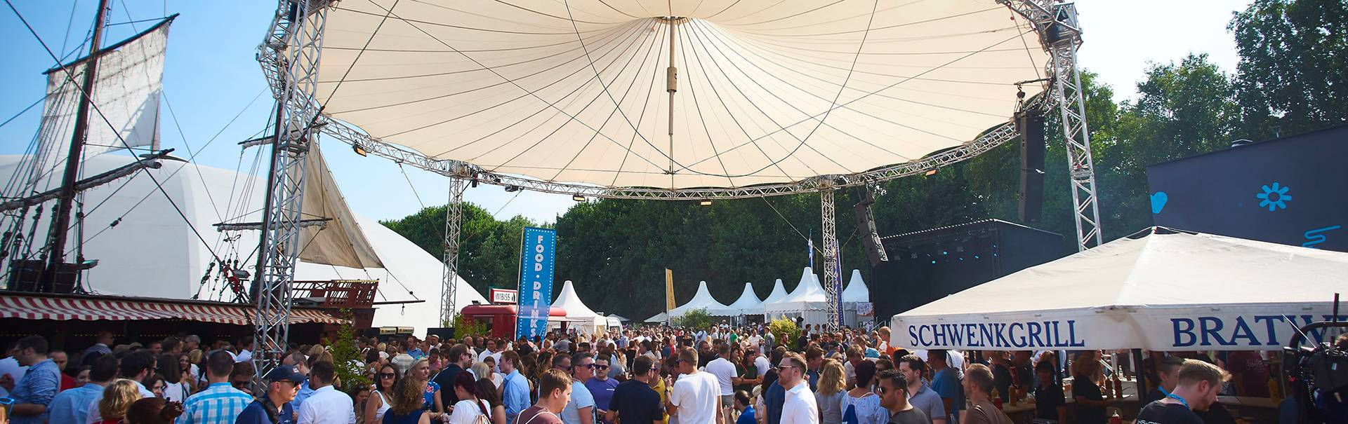 Mignon Sommerfest 2019 Magic Sky Kuppel Hamburg